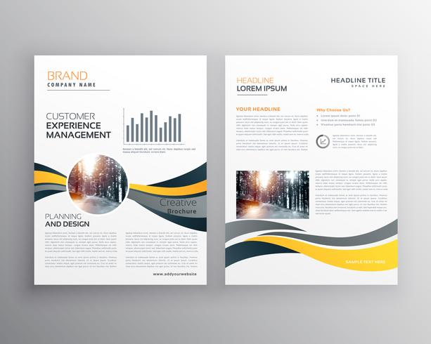 creative annual report business brochure design template - Download