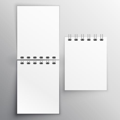 note diary mockup design template - Download Free Vector Art, Stock - diary paper template