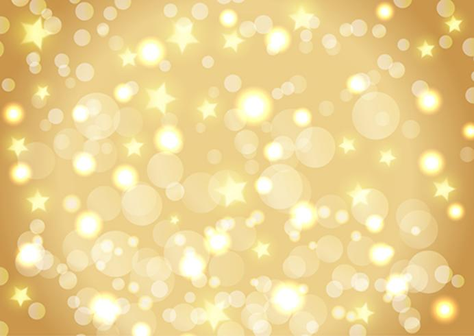 Christmas background of bokeh lights and stars - Download Free - christmas background image