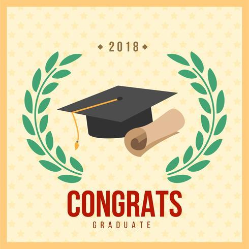 Tarjeta de Graduación - Descargue Gráficos y Vectores Gratis