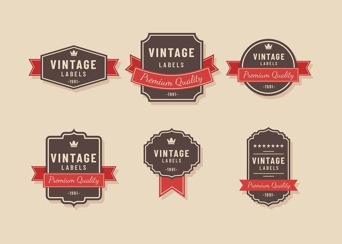 Vintage Label Brown Vector - Download Free Vector Art, Stock - label