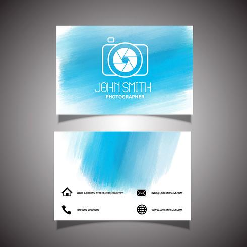 Photographer business card - Download Free Vector Art, Stock
