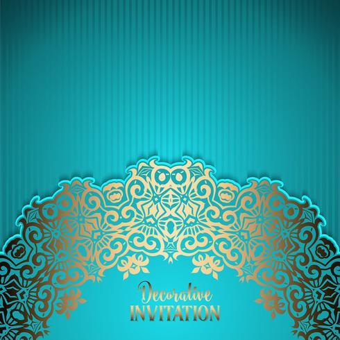 Decorative invitation background - Download Free Vector Art, Stock