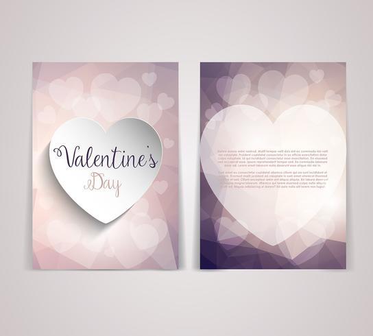 Valentine\u0027s Day flyer design - Download Free Vector Art, Stock