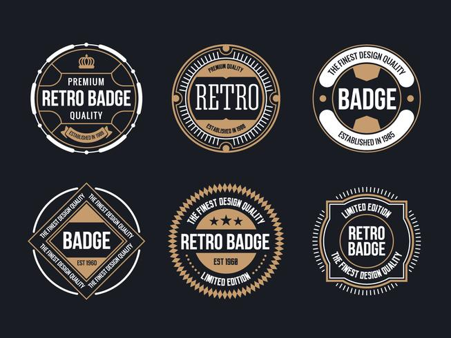 Circle Vintage and Retro Badge Design Collection - Download Free