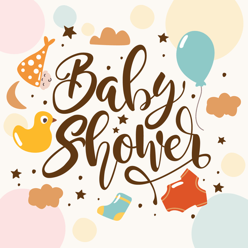 Cute Owl Cartoon Wallpaper Baby Shower Backgrounds Download Free Vector Art Stock
