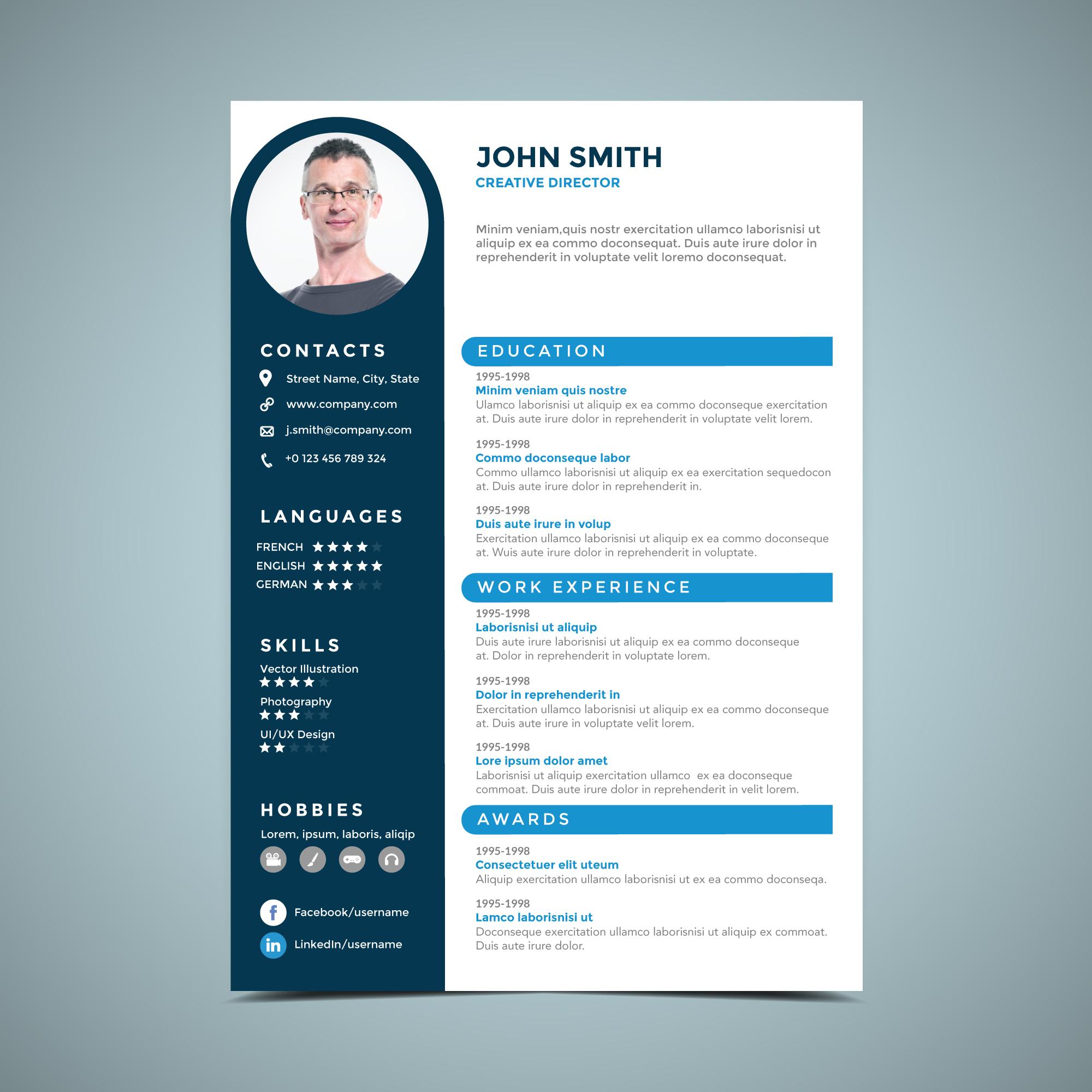 idees design cv