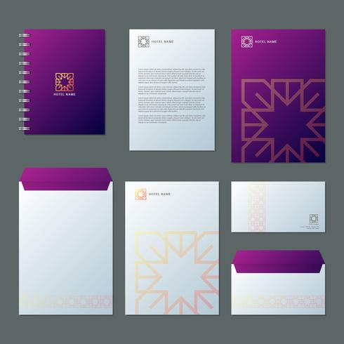 Business Hotel And Resort Spa Branding Identity Template Corporate