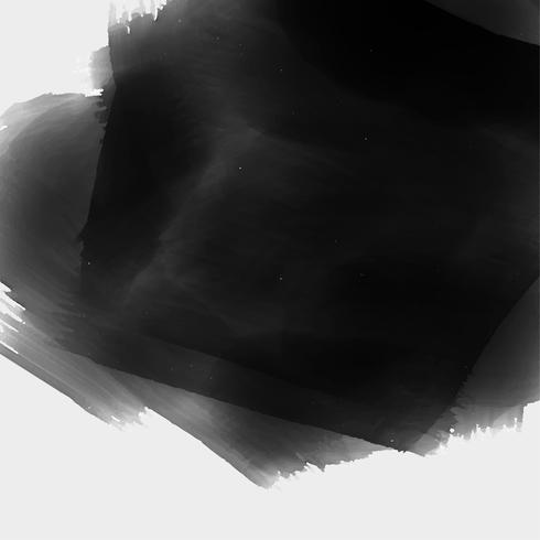 hand painted black watercolor texture background - Download Free