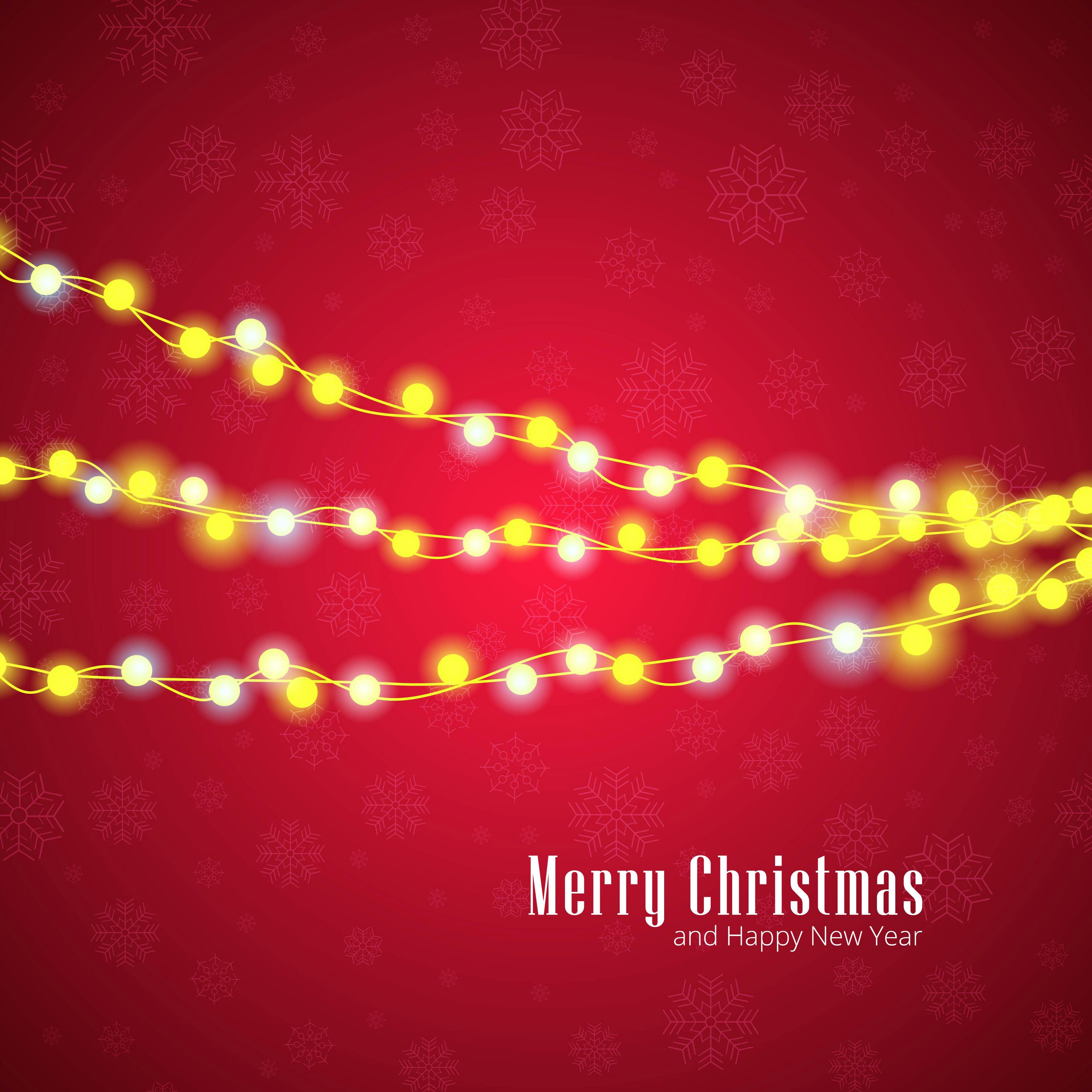 modern mery christmas background