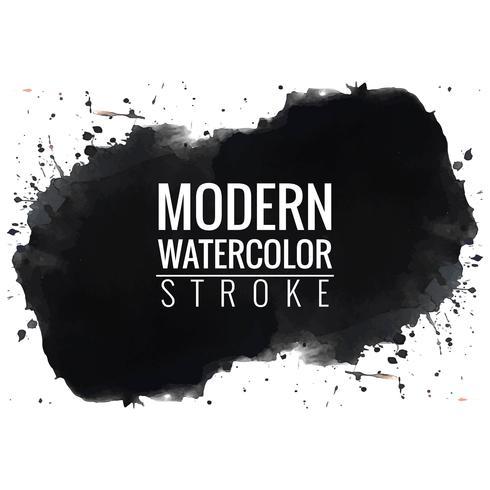 modern black watercolor background - Download Free Vector Art, Stock