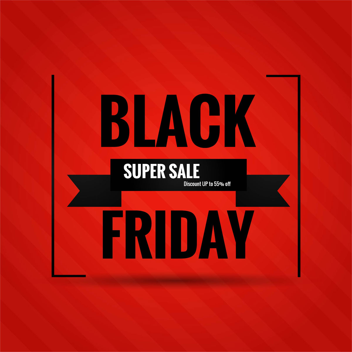 Friday Sale Abstract Black Friday Sale Poster Design Vector Download