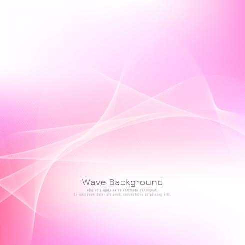 Abstract pink wave background - Download Free Vector Art, Stock
