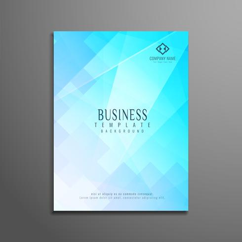 Abstract modern business flyer template - Download Free Vector Art