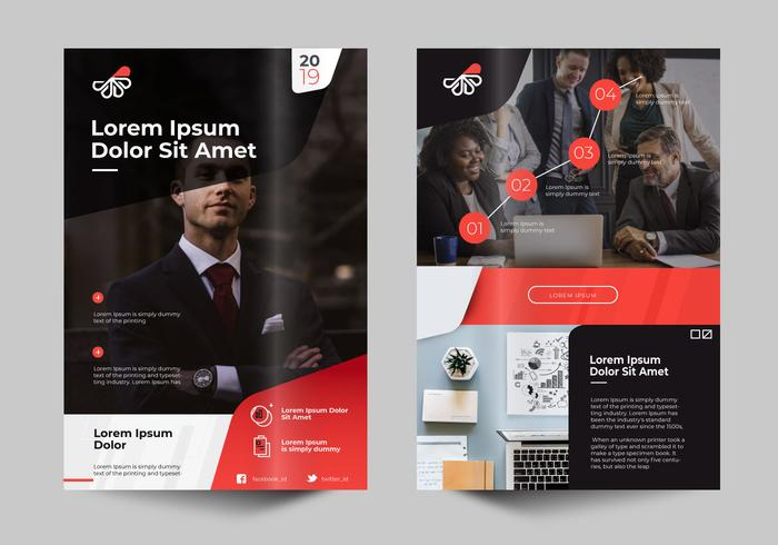 Modern Professional Business Flyer Design Template - Download Free