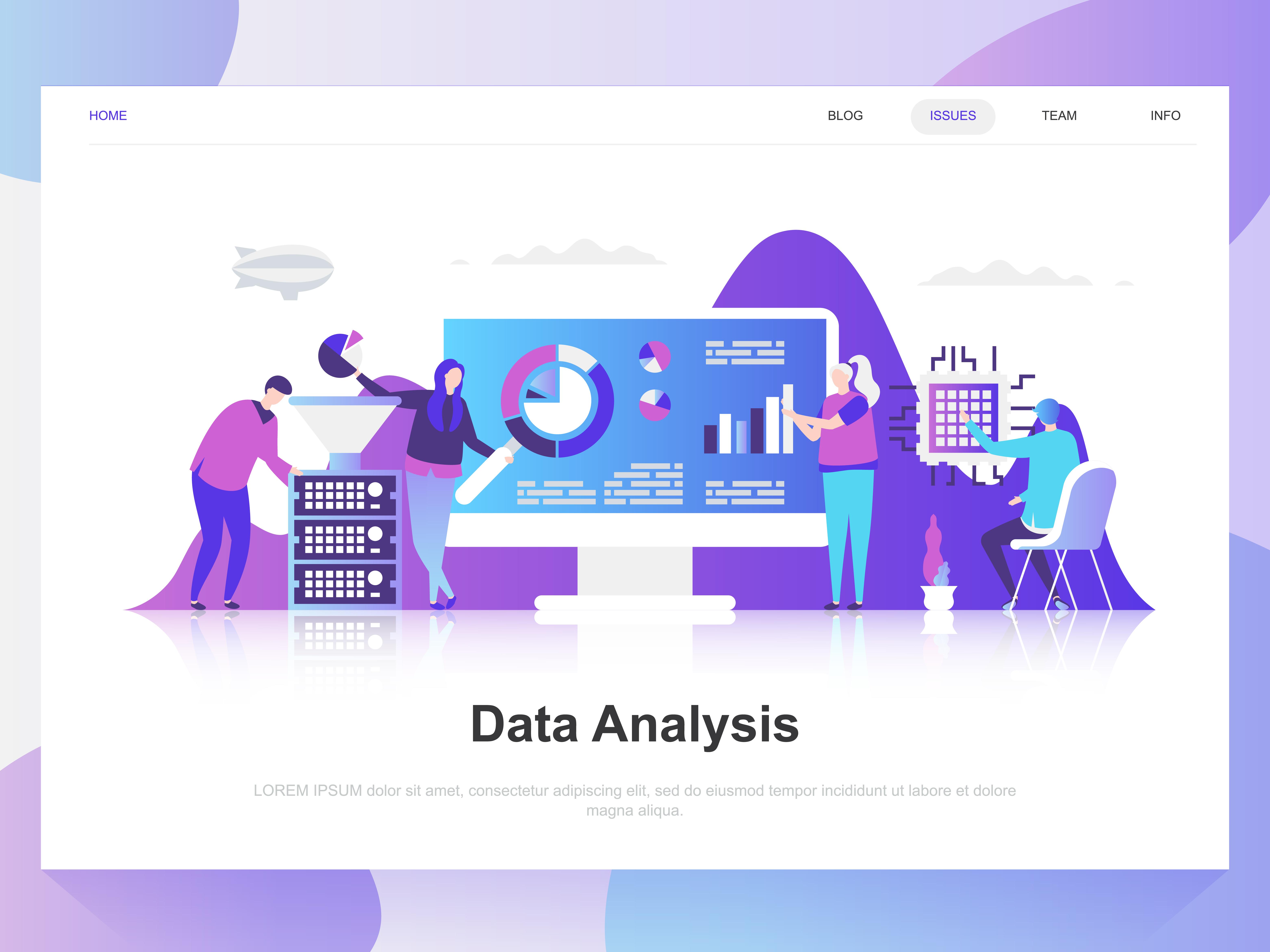 website analysis report template