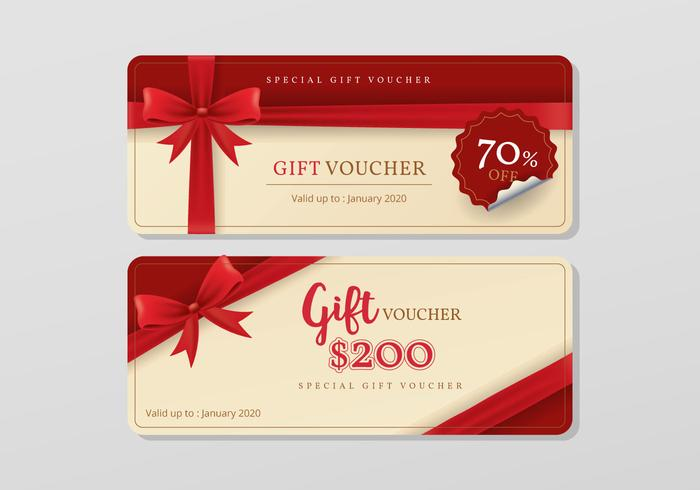 Gift Voucher Templates - Download Free Vector Art, Stock Graphics