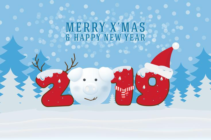 Free Cute Food Wallpaper Merry Christmas And Happy New Year 2019 Christmas