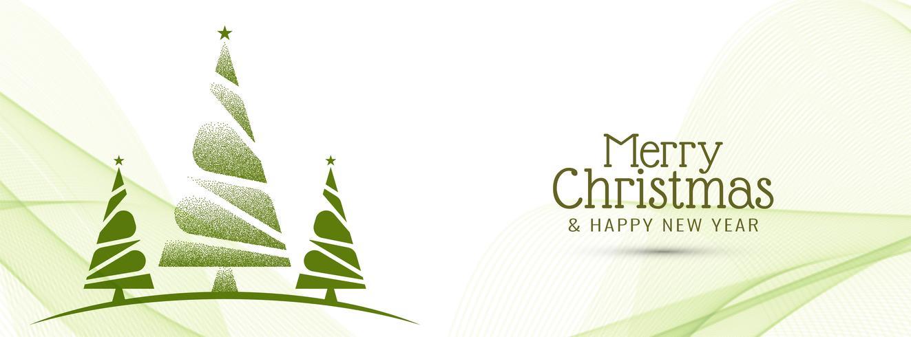 Elegant Merry Christmas banner template - Download Free Vector Art
