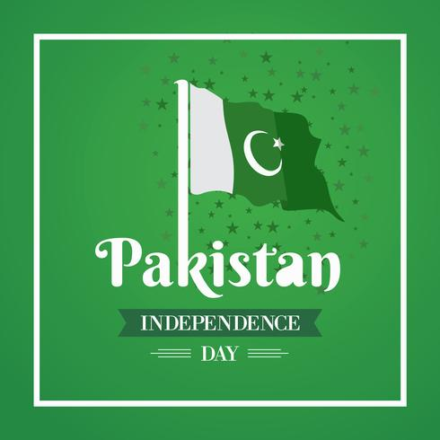 Happy Independence Day 14 August Pakistan Greeting Card - Download