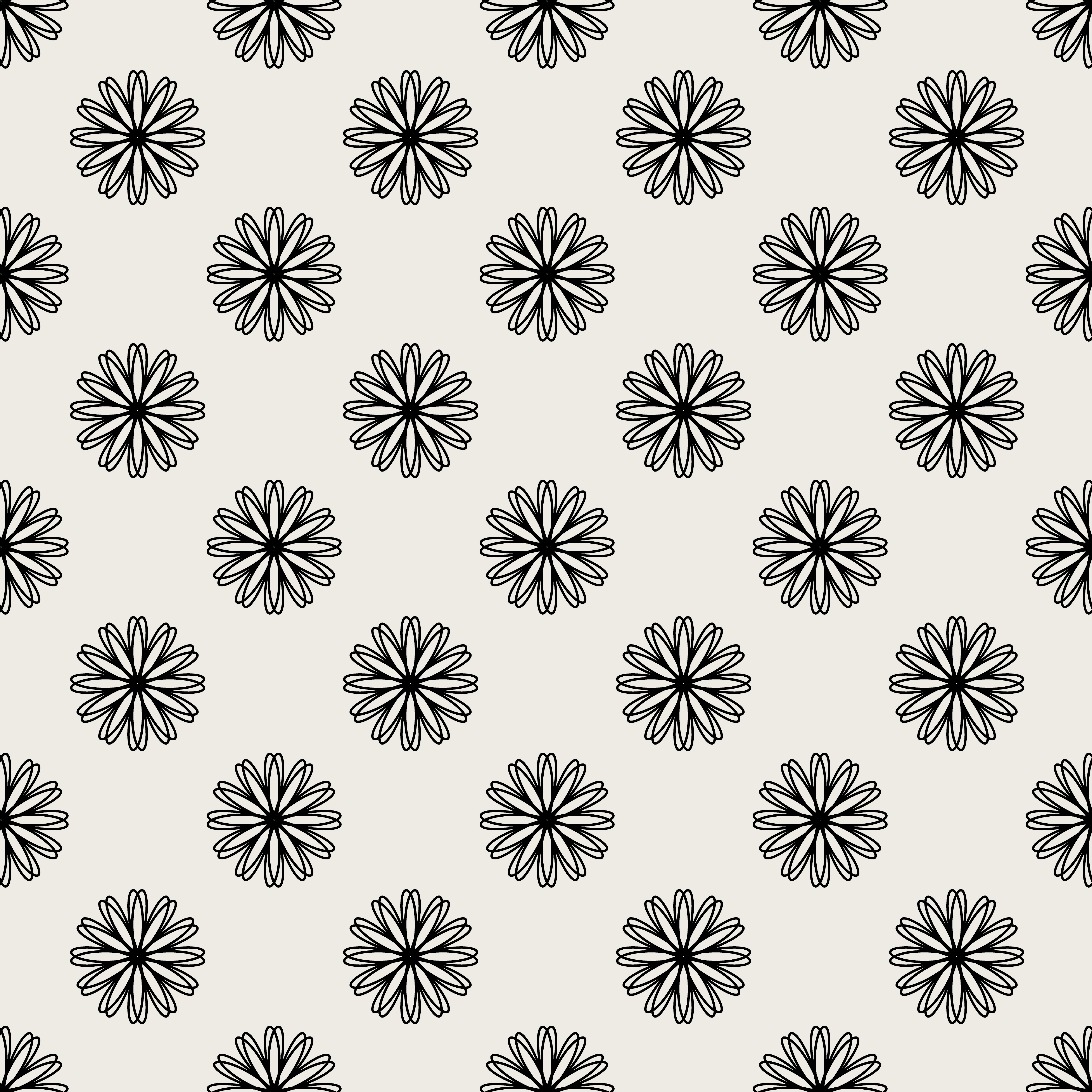 Seamless Pattern Background Modern Abstract And Classical Antique Concept Geometric Creative Design Stylish Theme Illustration Vector Black And White Color Floral And Flower Shape Download Free Vectors Clipart Graphics Vector