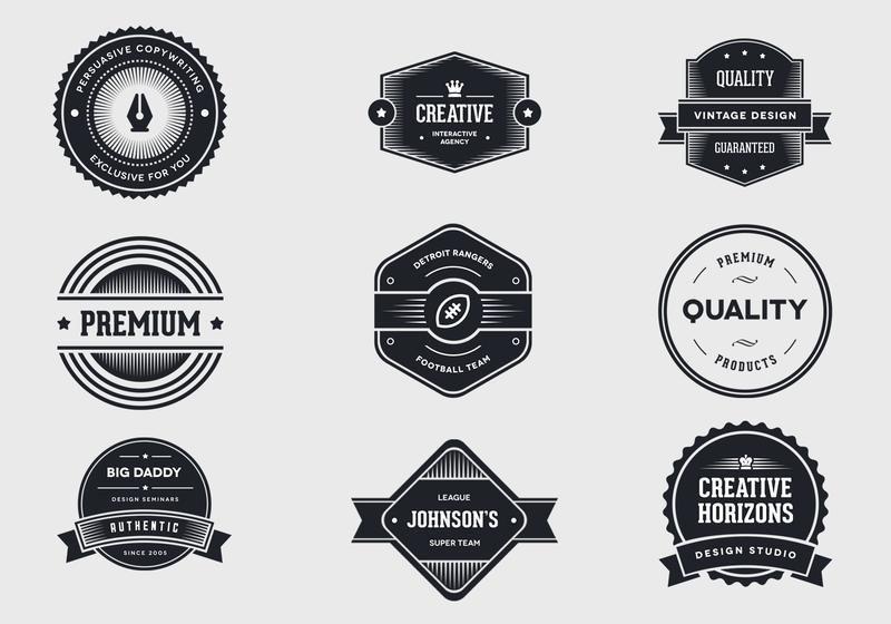 Blank Vintage Labels - Download Free Vector Art, Stock Graphics  Images