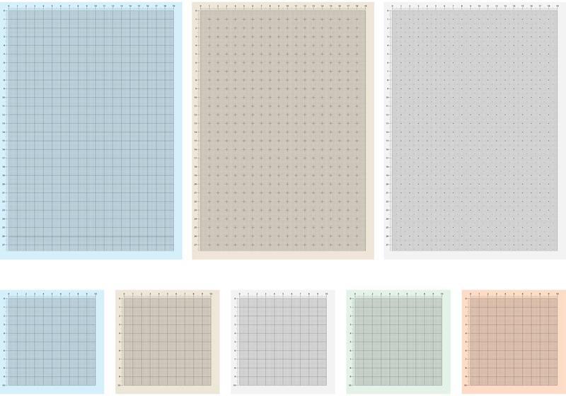 Millimeter Graph Paper Vector Sheets - Download Free Vector Art