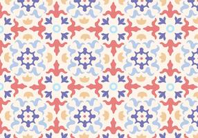 Mosaic Floral Pattern Vector Download Free Vector Art