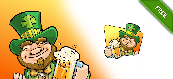Saint Patrick Day Vector Illustration