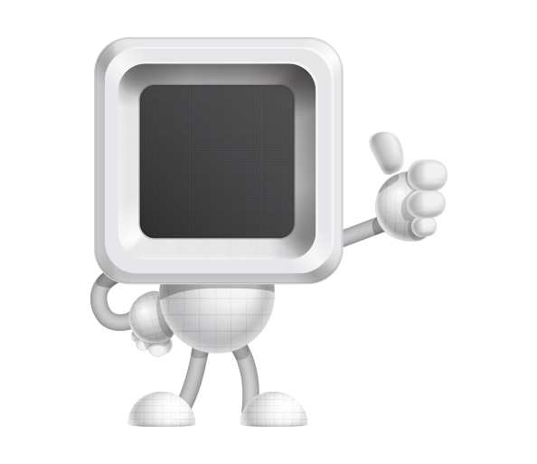 Free Robots Vector Character Set
