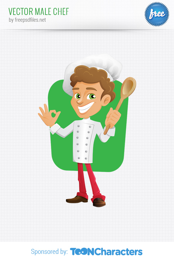 Vector Male Chef