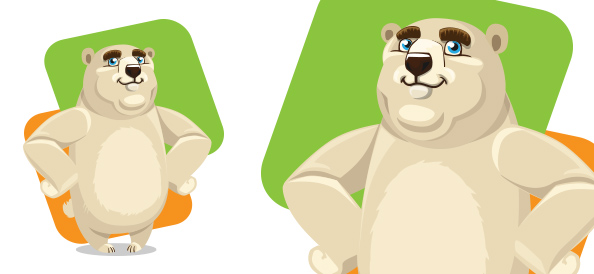 Sweet Vector Bear