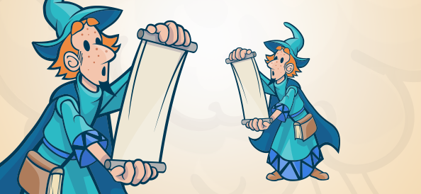 Magician With a Scroll