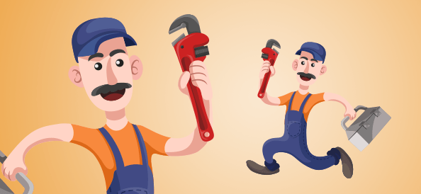 Plumber Holding Tools