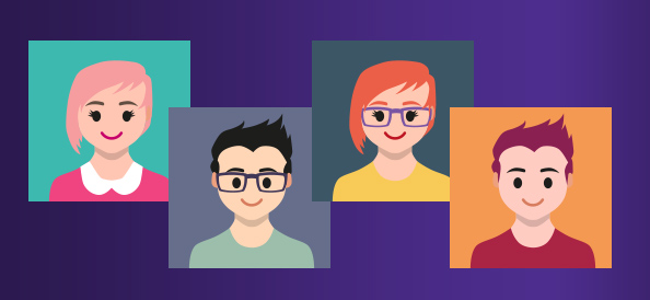 Flat User Avatars Pack