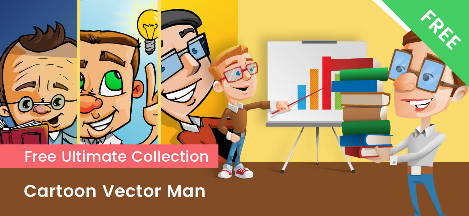 Cartoon Vector Men FREE Collection