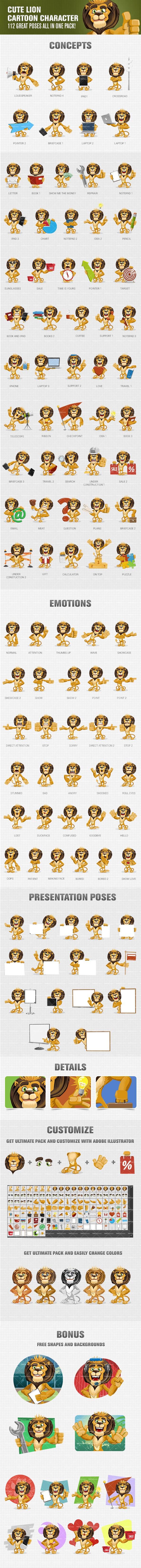 Lion Vector Mascot