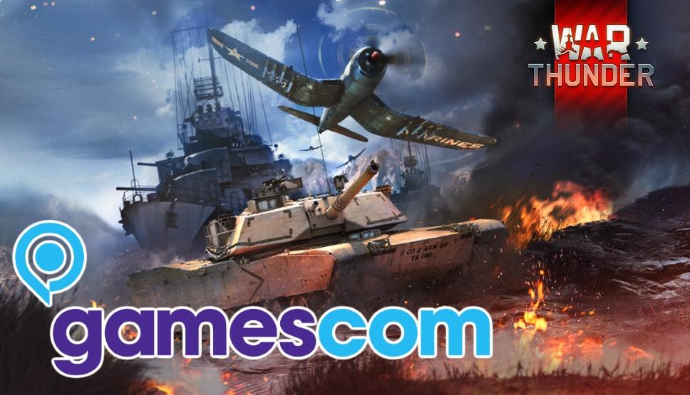 News Big news at gamescom 2018 - News - War Thunder