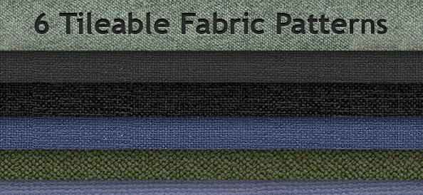6 Tileable Fabric Patterns