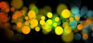 Colorful Bubble Background Set