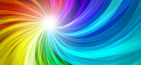 10 Abstract Twirled Backgrounds