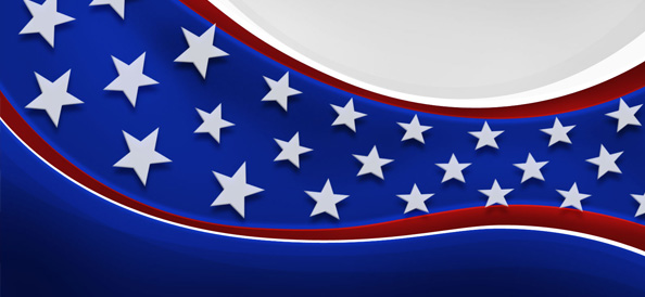 American Patriotic Background