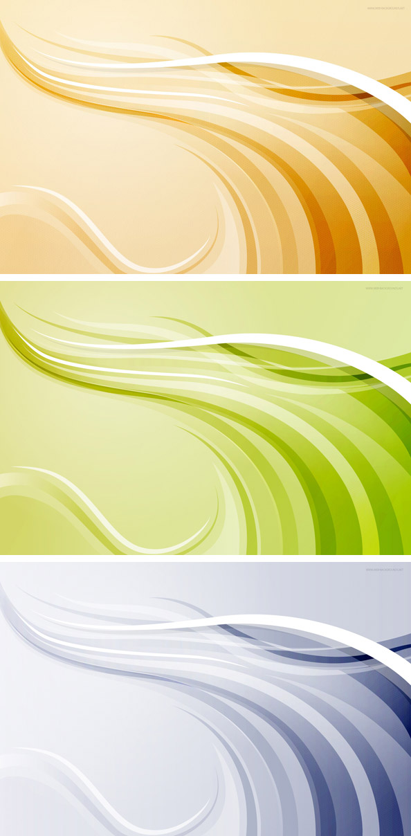 Abstract Background with Colorful Waves Preview Big