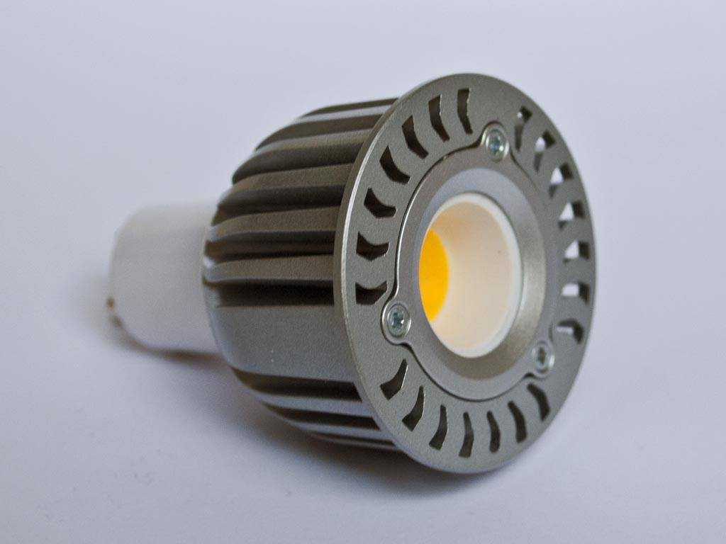 5 Watt Led Gu5 3 Cob Led Spot Lm60 6 Watt 12 Volt Dimmable Buyledstrip