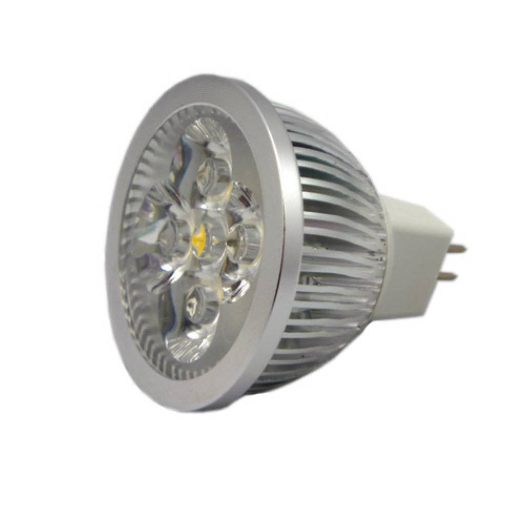 5 Watt Led Mr16 Gu5 3 Led Spot 12v 5 Watt