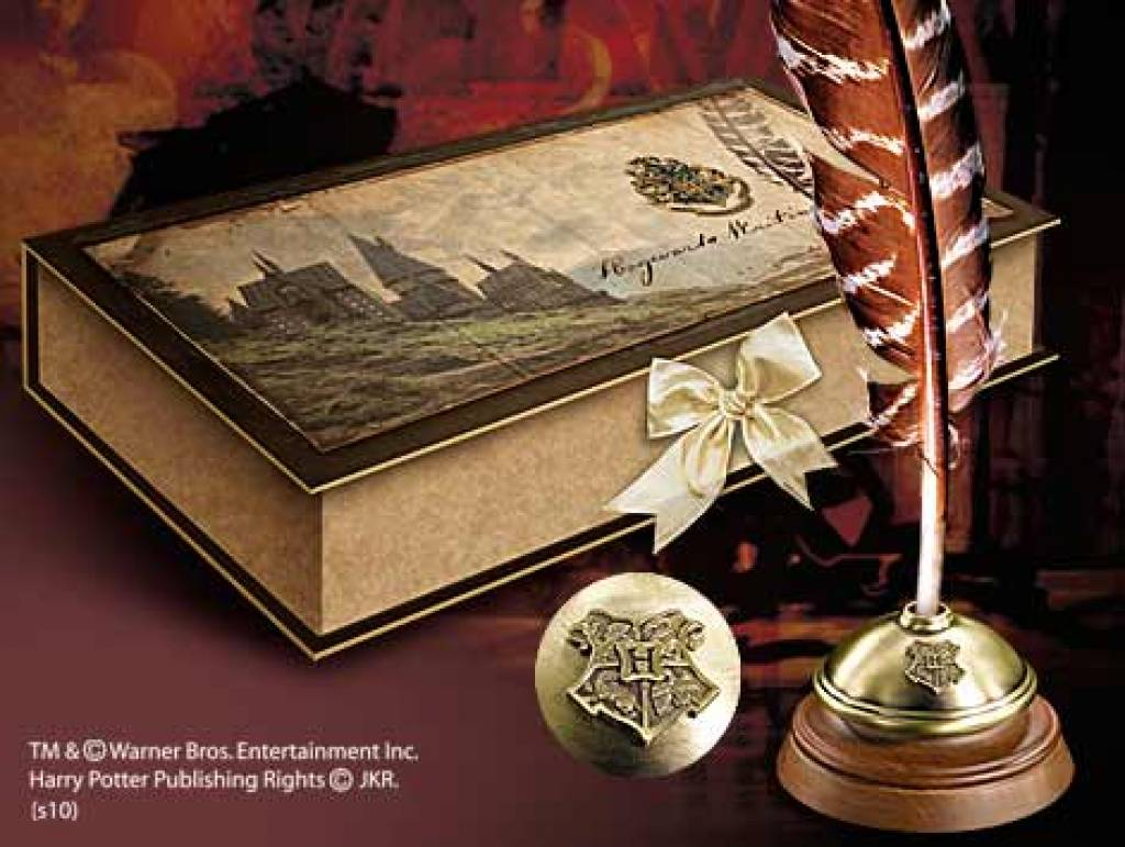 Artefact Decoration Hp Hogwarts Writing Quill The Movie Store