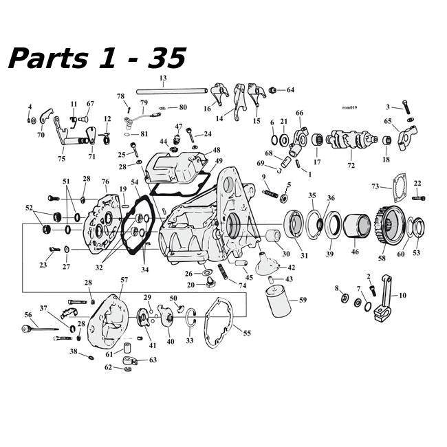 shovelhead exhaust systems diagram