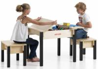 Kids Storage Table and Chairs - KinderSpell