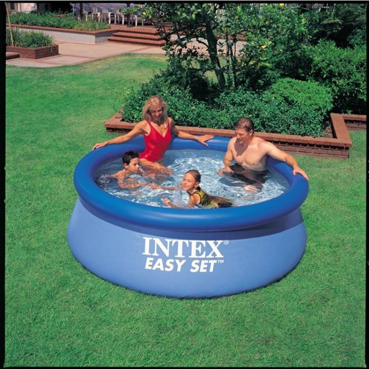 Zwembad Action Met Pomp Intex Easy Set Pool 244 X 76cm - Destination Beach