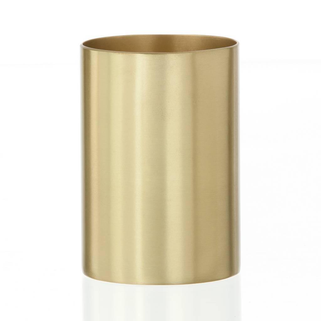 Pen Cup Holder Ferm Living Cup Pen Holder Quotbrass Cup Quot Brass Ø6x9cm
